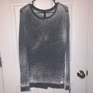Betsey Johnson Acid Wash Fly with me long sleeve